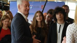 Мэр утвердил выплаты участникам этапа Всероссийской школьной олимпиады. На фото мэр Москвы Сергей Собянин