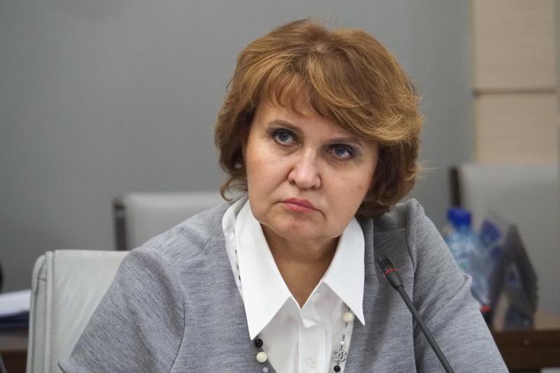 На фото: депутат МГД Людмила Гусева