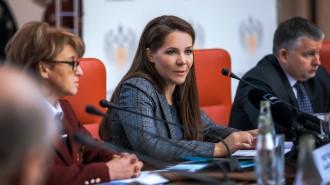 На фото заместитель мэра Москвы Анастасия Ракова