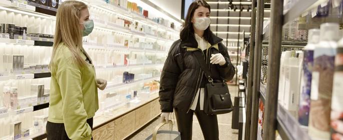 В Москве за выходные закрыли 13 магазинов за нарушения масочного режима. Фото: архив