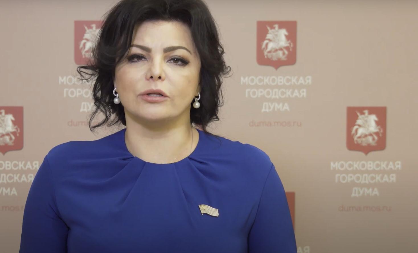 На фото депутат МГД Елена Николаева