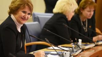 На фото глава комиссии Мосгордумы по экономической и социальной политике Людмила Гусева.