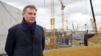 На фото руководитель Департамента природопользования и охраны окружающей среды города Антон Кульбачевский