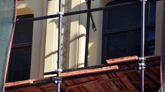 На Люсиновской улице отремонтируют фасады исторический зданий. Фото: Анна Быкова