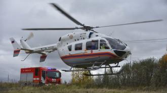 С 1 мая вертолеты МАЦ начнут мониторинг пожароопасной обстановки в Москве. Фото: архив