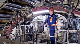 Проходку всех тоннелей на Большой кольцевой линии метро завершат до конца года. Фото: Антон Гердо