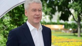 На фото мэр Москвы Сергей Собянин