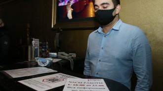 Клуб «Cinema Bar Хауз» в Москве могут закрыть за нарушение мер против COVID-19. Фото: архив
