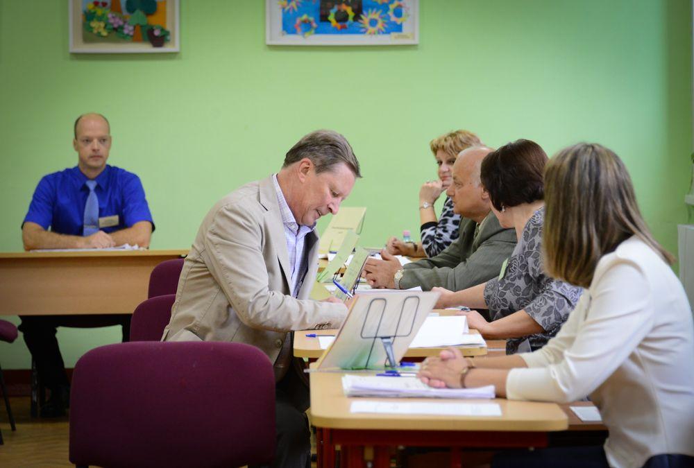 Общественный штаб по наблюдению за выборами в Москве посетили иностранные омбудсмены. Фото: архив